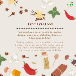 Konten feeds Ersa Food